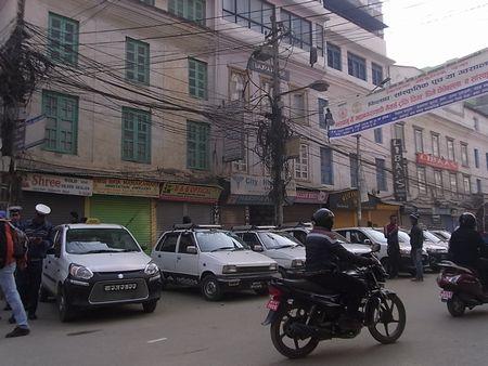 ネパールの街中