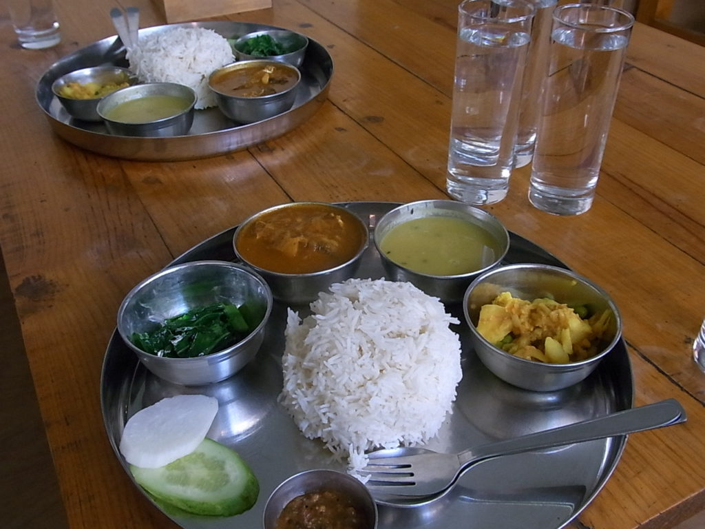 辛いネパール料理
