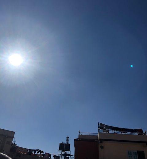 ネパールの太陽